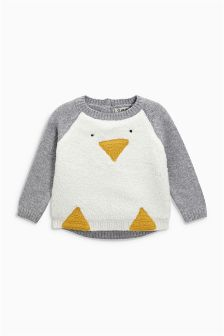 Penguin Christmas Jumper (3mths-6yrs)