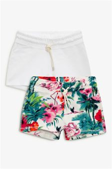 Tropical Print Shorts Two Pack (3-16yrs)