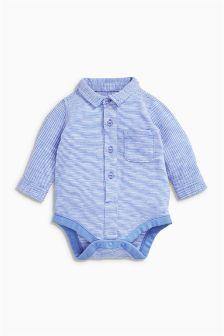 Stripe Jersey Shirtbody (0mths-2yrs)
