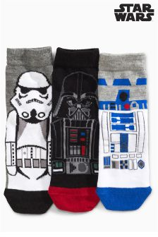 Star Wars™ Socks Three Pack (Older Boys)