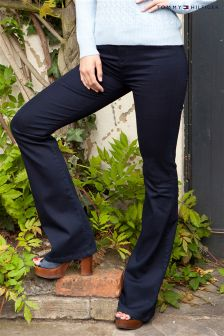 Tommy Hilfiger Collection Navy Flared Trouser