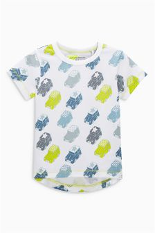 All Over Print Car T-Shirt (3mths-6yrs)