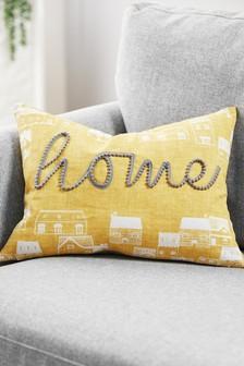 Home Pom Pom Cushion
