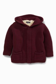 Borg Lined Hooded Jacket (3mths-6yrs)