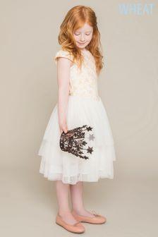 Wheat Cream Snow White Detail Dress