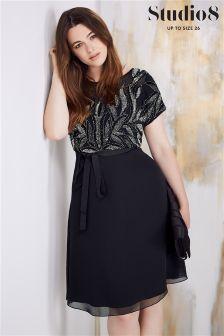 Studio 8 Black Kerry Lace Dress