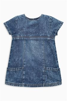 Authentic Wash A-Line Dress (3mths-6yrs)