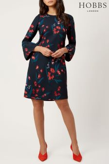Hobbs Multi Flora Dress