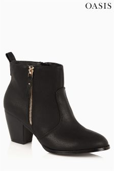 Oasis Black Boot
