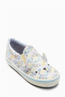 Print Bear Skate Shoes (Younger Girls)