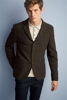 Slim Fit Deconstructed Blazer