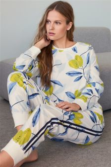 Lemon Print Pyjamas