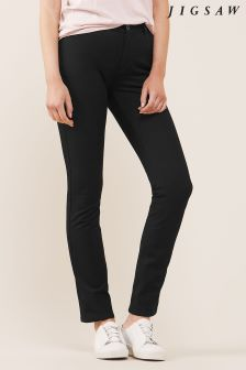 Jigsaw Black Bi Stretch Jean