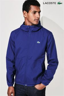 Lacoste® Blue Hooded Jacket