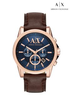 Gold Armani Exchange Outerbanks Watch