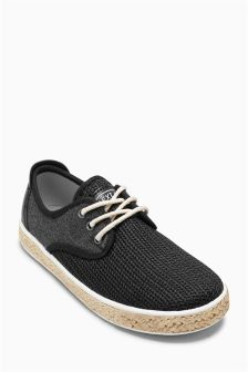 Mesh Rope Lace-Up Shoes (Older Boys)