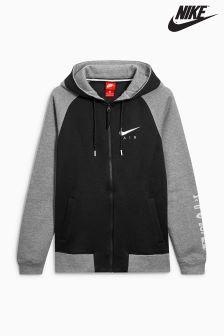 Nike Black Grey Sportswear Hoody