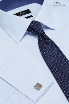Signature Premium Slim Fit Textured Shirt