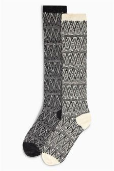 Thermal Neppy Boot Socks Two Pack