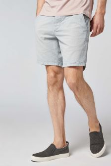 Fine Striped Chino Shorts