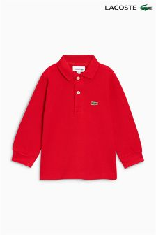 Lacoste® Classic Long Sleeve Polo