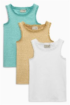 Vests Three Pack (3-16yrs)