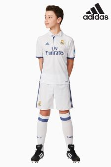 adidas Real Madrid 2016/17 Home Replica Shorts