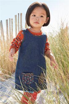 Ditsy A-Line Dress (3mths-6yrs)