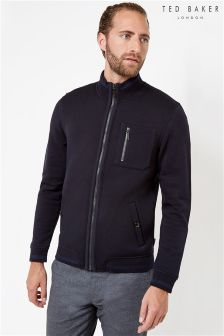 Ted Baker Jersey Zip Through Sweat
