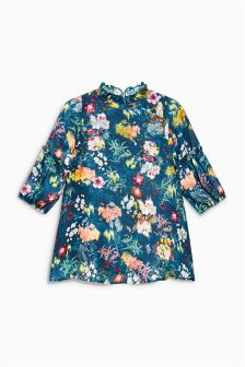 Floral Print Ruffle Dress (3mths-6yrs)