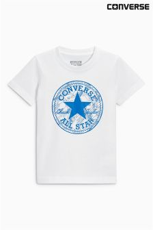 Converse White Seasonal Chuck Fill Tee