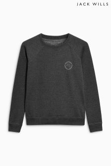 Jack Wills Charcoal Colby Sweatshirt