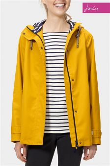 Joules Coast Antique Gold Waterproof Hooded Jacket