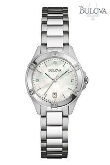 Ladies Bulova Mother Of Pearl Watch