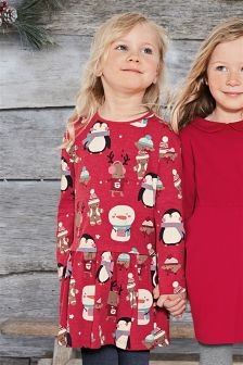 Christmas All-Over Print Tunic (3mths-6yrs)