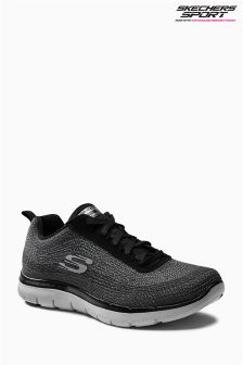Skechers Grey Flex Appeal 2.0 Trainer