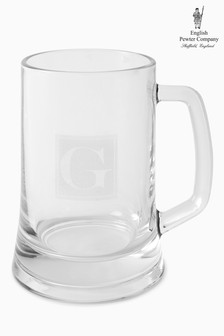 500ml Personalised Glass Tankard