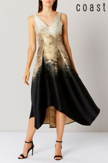 Coast Metallic Erla Maxi Dress