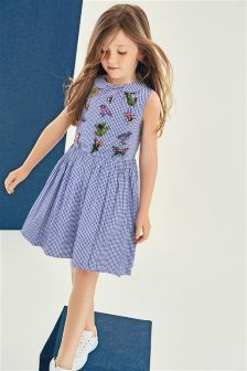 Gingham Dress (3-12yrs)