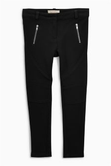 Ponte Biker Leggings (3-16yrs)