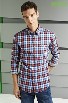 Boss Green Blumas Check Shirt