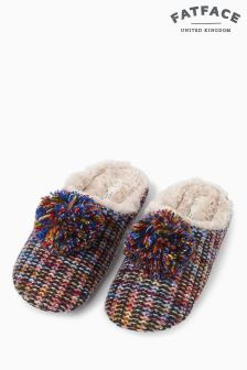 Fat Face Milly Multi Knit Mule