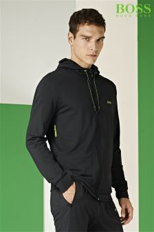 Boss Green Black Saggy Tech Hoody