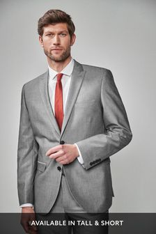 Grey Mens Suits | Charcoal Suits for Men | Next Official Site