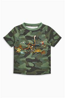 Short Sleeve Dinosaur T-Shirt (3mths-6yrs)