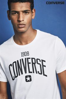 Converse White Athletic T-Shirt