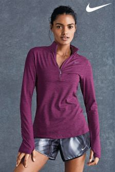 Nike Purple Dry Element Running Top