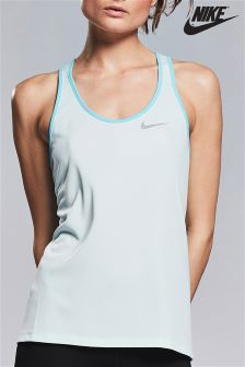 Nike Blue Breathe Rapid Running Top