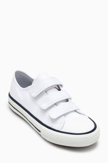 Triple Strap Shoes (Older Boys)