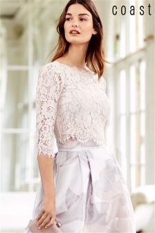 Coast Blush Sardinia Lace Top